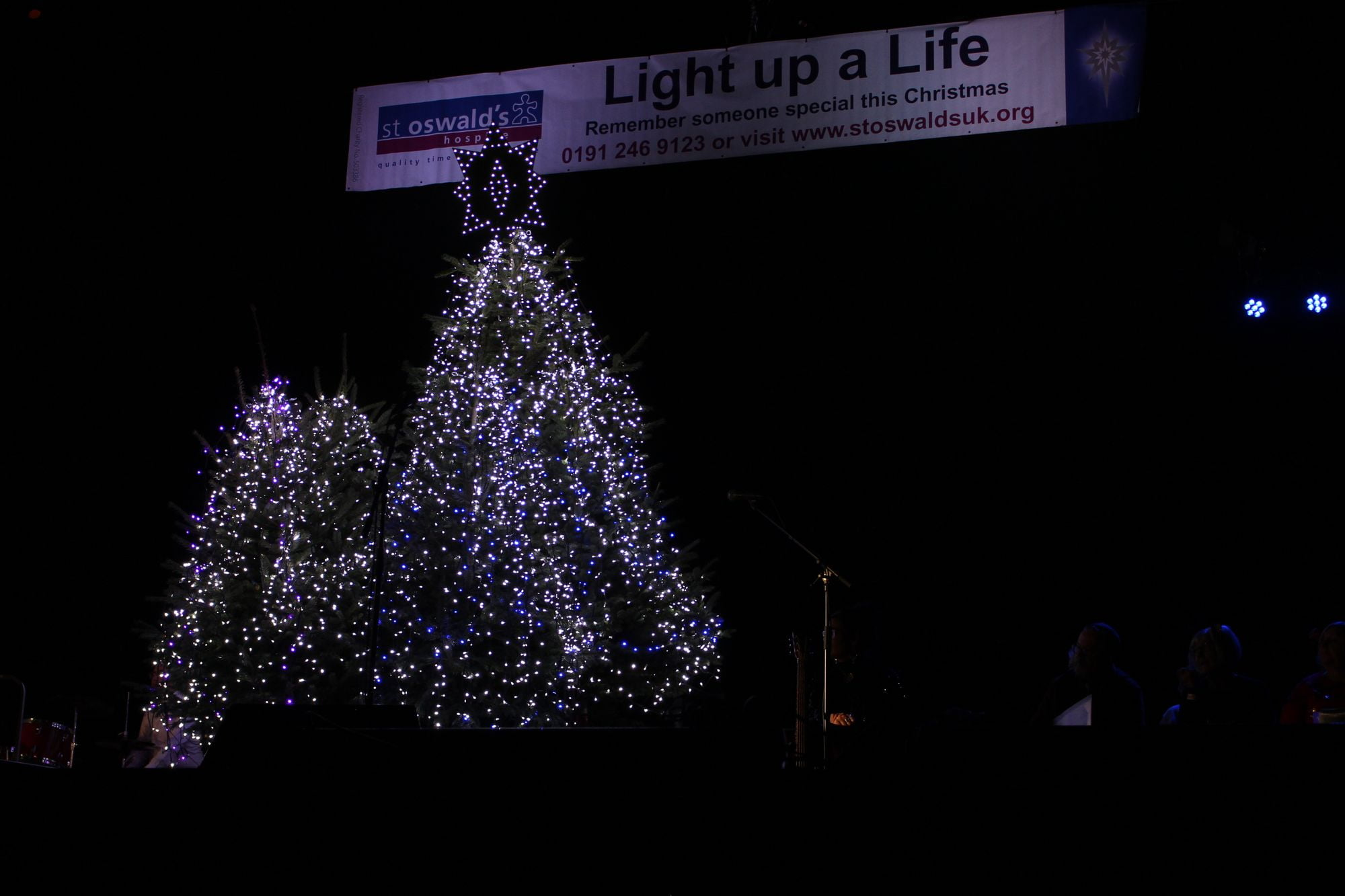 Turps Film helps St Oswald's Hospice to make their Light up a Life ceremony virtual